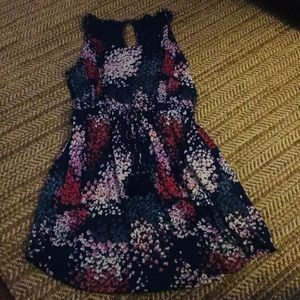 Lucky Brand Floral Dress L nwot